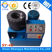 Alibaba machinery Nut Swaging Machines hydraulic hose fitting crimping machine