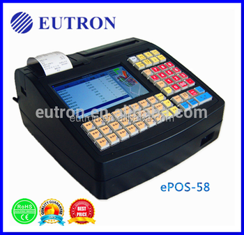 7 inch desktop ic card reader pos machine