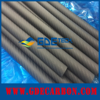 Price of twill 3k carbon fiber exhaust pipe cover 60mm