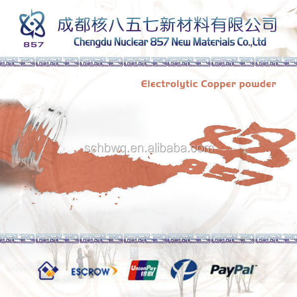 electrolytic copper powder for electrical carbon products