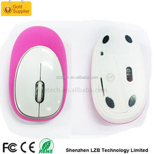 Innovative soft touch silicone gel wireless mouse Soft silicone Gel wireless computer mouse with anti-stress