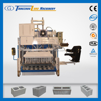 QMY12-15 Concrete Brick Raw Material Concrete Block Making Machines