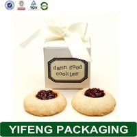 Pretty Food Packaging Decorative Wholesale Craft Paper Cookie Box