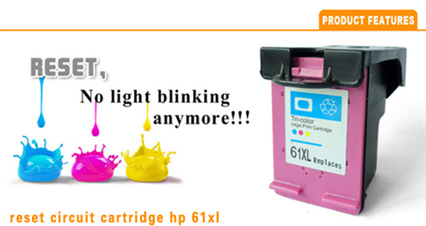 for HP 61XL Ink Cartridge ink visible cartridge for HP Envy 4500 Printer