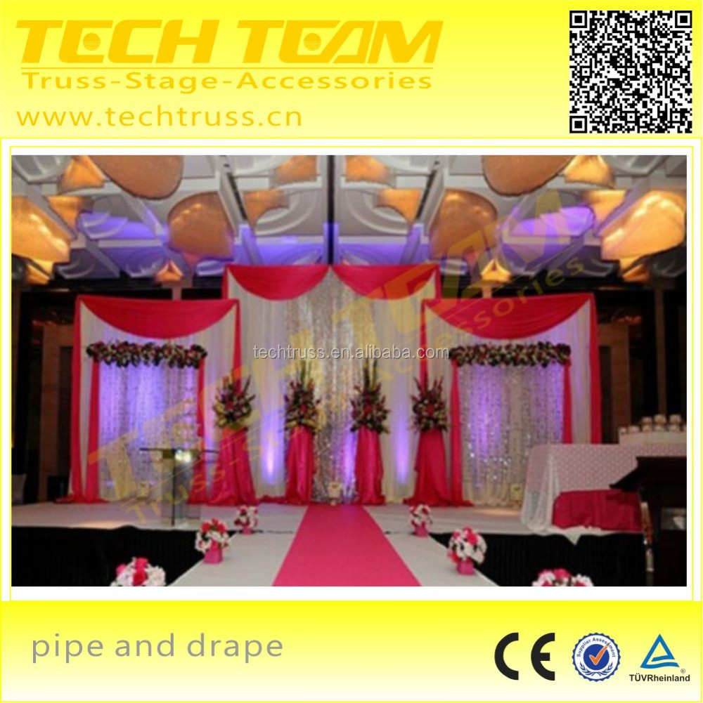 Adjustable Aluminum Telescopic Posts(0.9m-6m) , Used Pipe And Drape For Sale