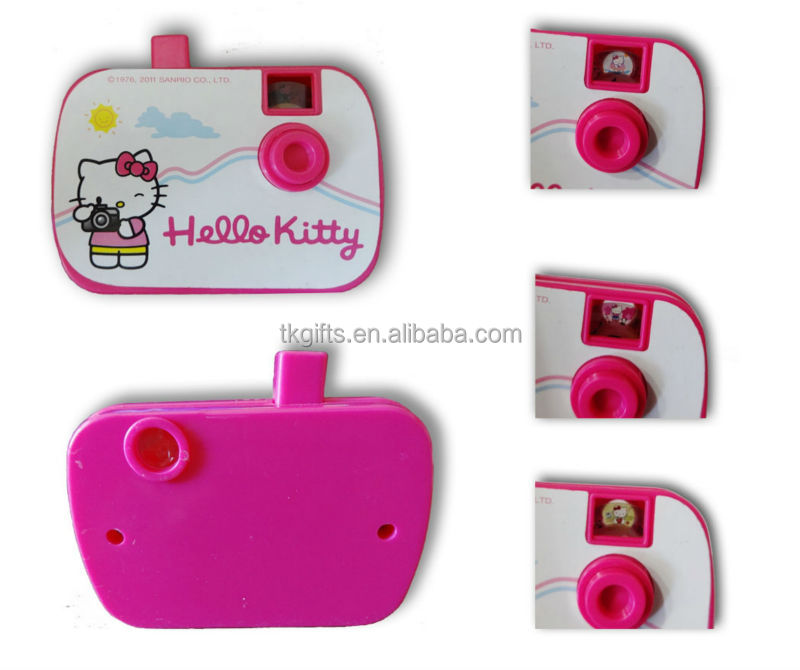 Hello Kitty Mini Camera Of Picture Viewer Toy