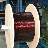 2015 hot sale high current magnetic wire with enamelled coated aluminum conductor