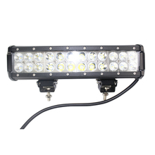 72w 14inch jeep utv China gold supplier car led light bar 5000 working hours super long working