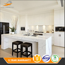 Melamine professional modern knock down kitchen cabinets
