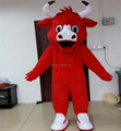 Hola bull mascot costume/animal cosplay costume for adult