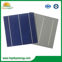Low efficiency 6*6 poly solar cell for cheap sale