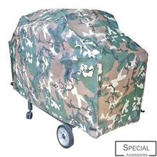 Hot sale outdoor BBQ grill cover with camouflage colorful