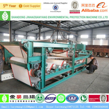 DLY Small Automatic Belt Type Mud Filter Press