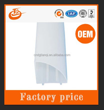 pvc ABS PC polycarbonate profile extruded profiles shenzhen plastic extrusion factory