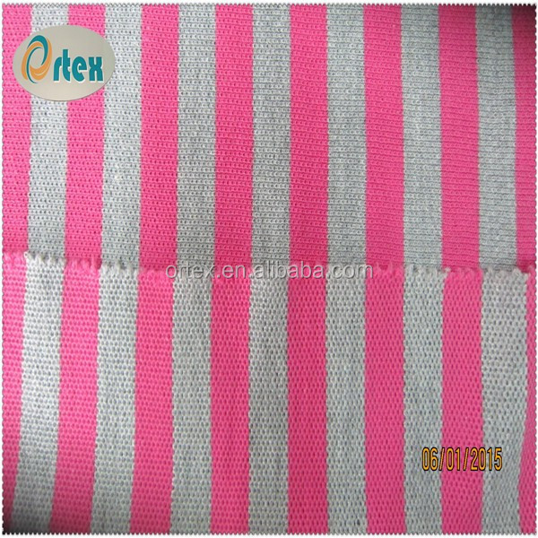 100 cotton stripe fabric for clothing