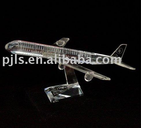 crystal plane sculpture