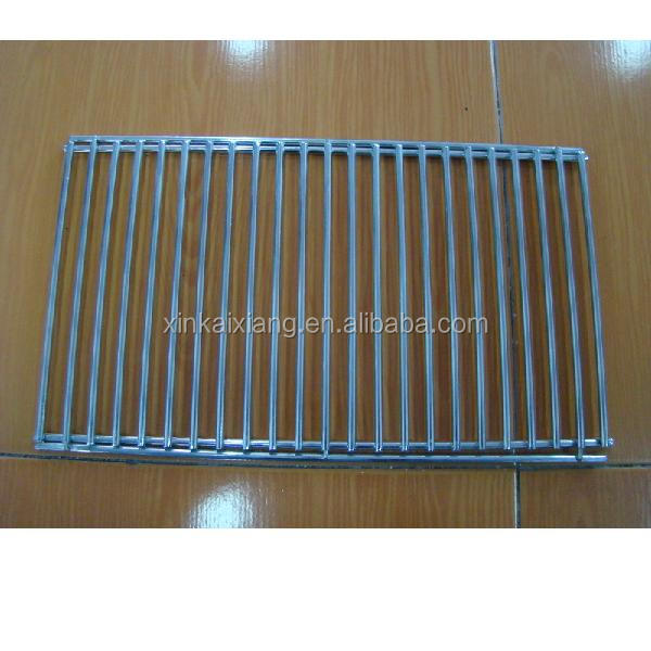 crimped wire mesh bbq grill wire mesh, stainless steel barbecue bbq grill wire mesh net/Stainless Steel Double Barebecue bbq Gri