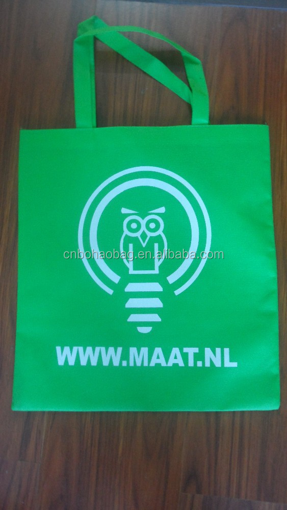 Different Shapes And Size Custom Made Nonwoven Shopping Bags