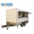 high quality China supplier mobile food trailer food truck outdoor Food Cart for sale