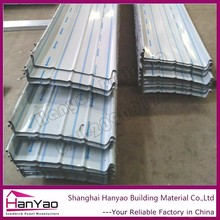 3 Layer Upvc Plastic Corrugated Roofing Sheet 910Mm/Fireproof Pvc Roofing Tile For Workshop