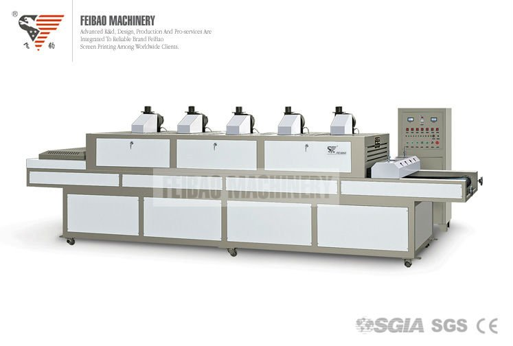 SGIA SGS CE Ice-flowers UV curing machine FB-UV1100-5000