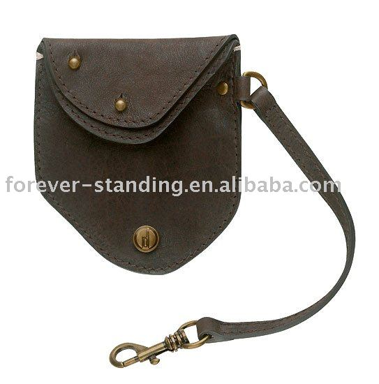 leather coin purse from Dongguan manufacturer