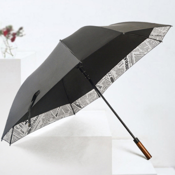 Golf Umbrella Windproof - 27 inch Extra Large - Square Unbreakable Rain Umbrella - Lightning Protection