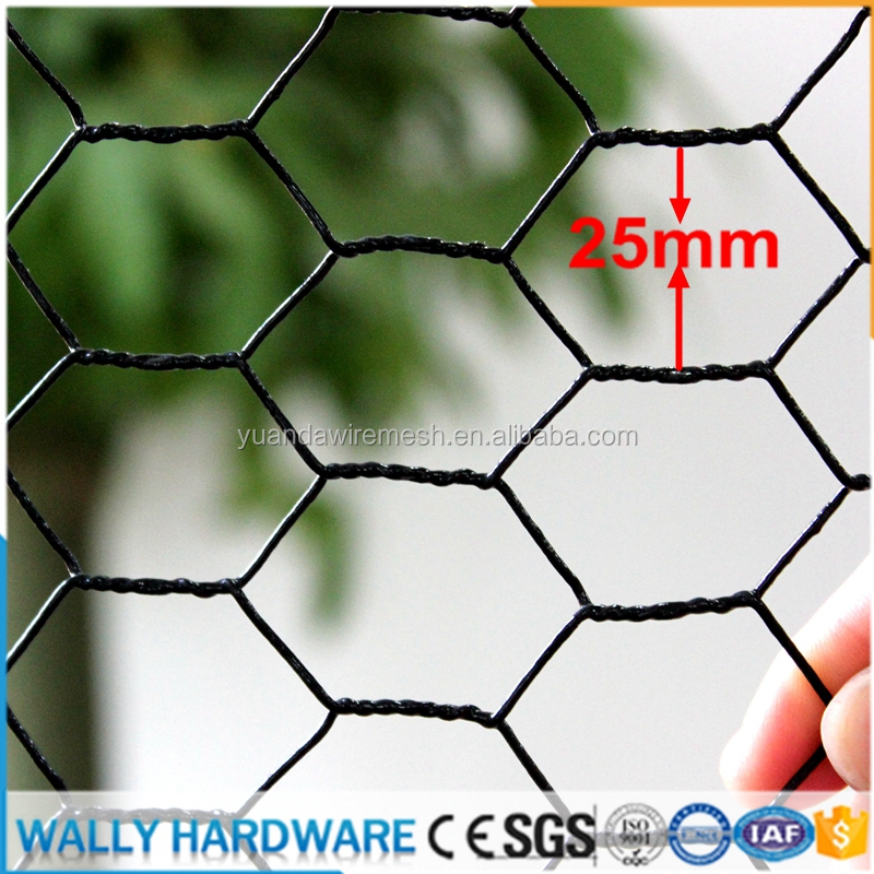 factory low price pvc coated vinyle coated plastic and galvanized hexagonal wire mesh/anping hexagonal mesh/chicken wire mesh