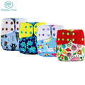 Happyflute custom pattern manufacturer reusable pocket cloth diaper for baby