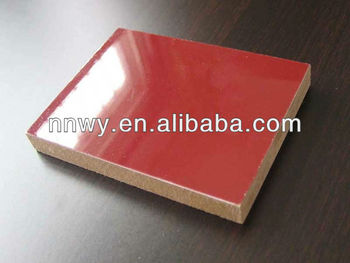 uv laminated mdf board/high gloss uv mdf board
