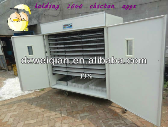 good quality egg incubator for farm ostrich WQ-2640
