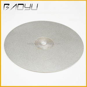 China Electroplated Diamond Lapidary Flat Lap Disc For Gemstone/Jade