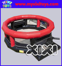 MINI Inflatable panna soccer arena, inflatable football cage for kids