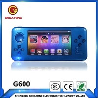 4.3 touch screen mp5 handheld game player support PSP,PS1,N64 Games Console