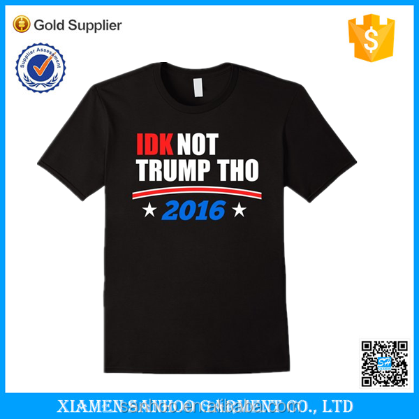 Cheap Wholesale High Qualityt US Election Tshirt Politics Design Your Own T-shirt