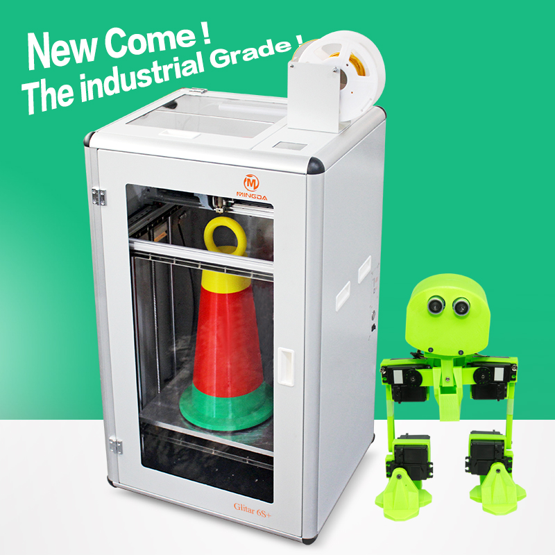 Toys animes 3d printer newest Mingda Glitar6L 300*400*500mm Chinese large 3d printer professional for sale