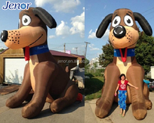 Giant Inflatable Dog Model for Outdoor Advertising Decoration