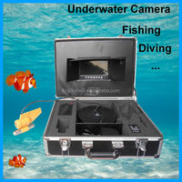 Extreme Sports Cameras OEM IR Remote Underwater Action Camera 7 inch LCD Monitor