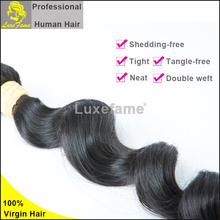 10-30inch in stock fast shipping virgin indian loose wave hair bundles unprocessed remy indian hair industries