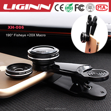 2017 High Quality HD Mobile Phone Lens 190 Degree Fisheye 20X Macro For iPhone 6 6S Plus