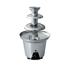 3 tiers electric home use chocolate fountain machine