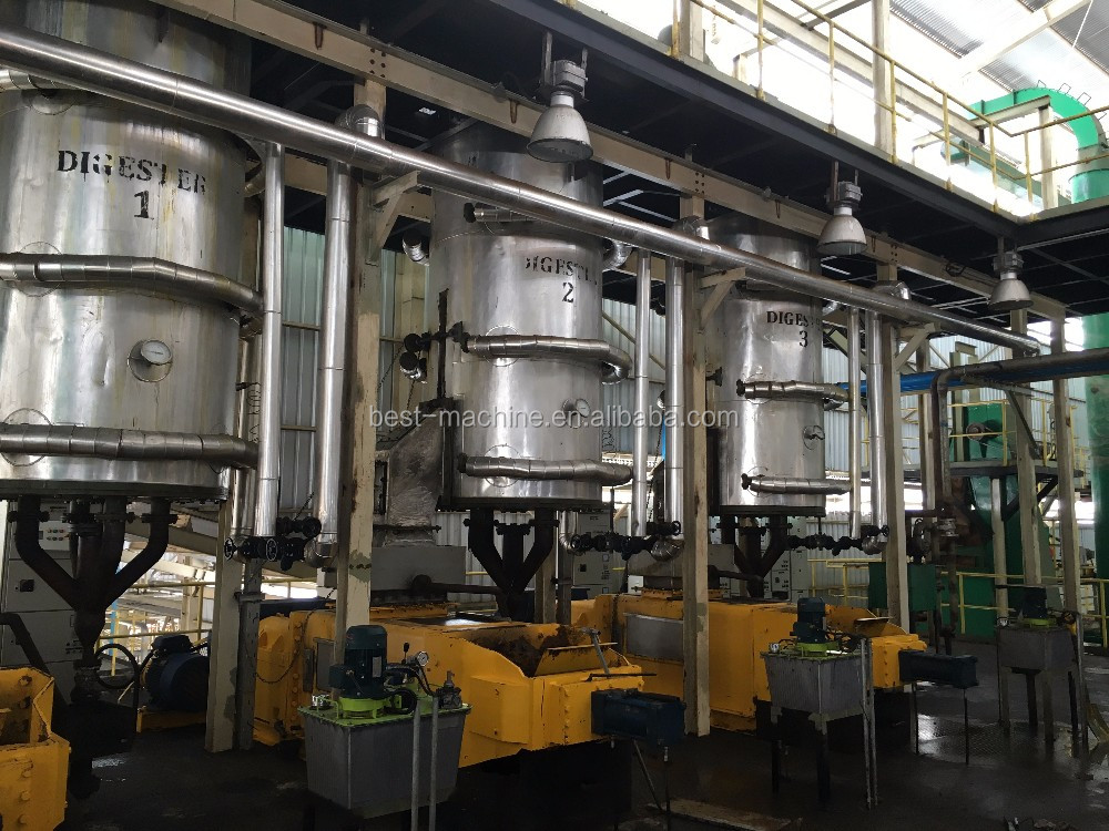 most popular in africa indonesia malaysia crude Palm fruit oil production line machine for sale