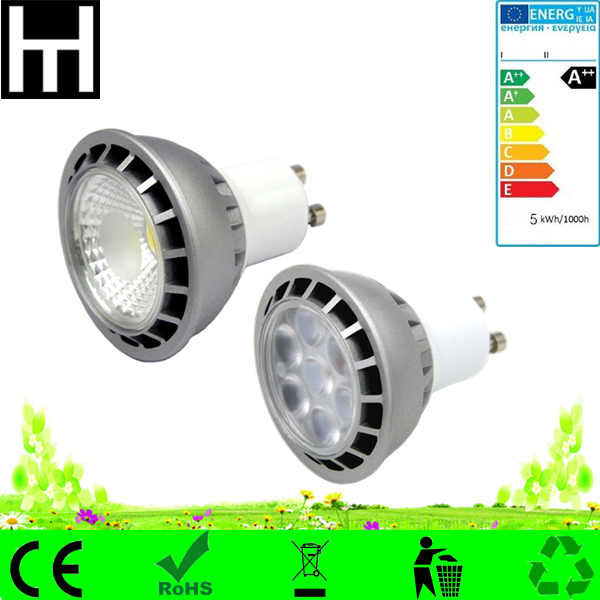 cob led spot 230v gu10 led 50w halogen replacement dimmable 7 watts led gu10
