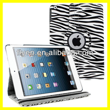 Zebra Leather 360 Rotating Skin Case Cover Stand for Apple Ipad Air 5 5th Gen Wholesale Cheap Lot Tablet Leather Cases Covers
