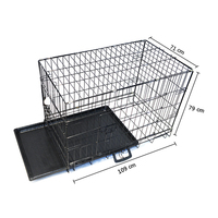 Portable Foldable Pet strong wire cage dog