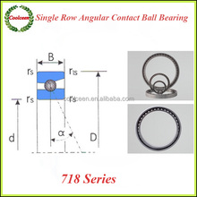 71800C Single row angular contact ball bearing