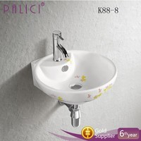 vessel sink wall hung art ceram basins sinks round design for bathroom