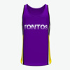 Tontos sportswear custom sublimation sleeveless t shirt men