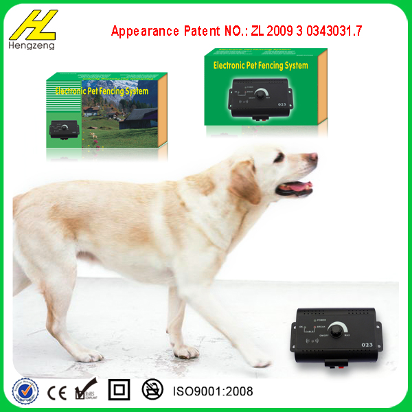 Electric fence system for smart dog in ground pet fencing system