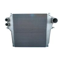 Aluminum bar plate radiator for hino 700